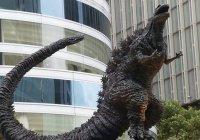 Памятник Годзилле открылся в Токио