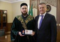Муфтий РТ получил медаль Верховного Суда России