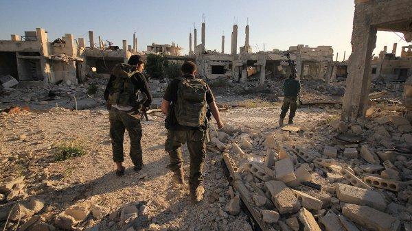 Турецкие войска продолжают разминирование Африна.