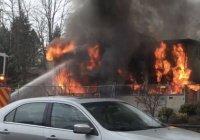 ФБР взяло на контроль расследование пожара в американской мечети