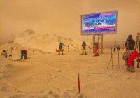 На юг России обрушился коричневый дождь (ФОТО)