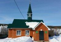 Новая мечеть открыла свои двери в Татарстане
