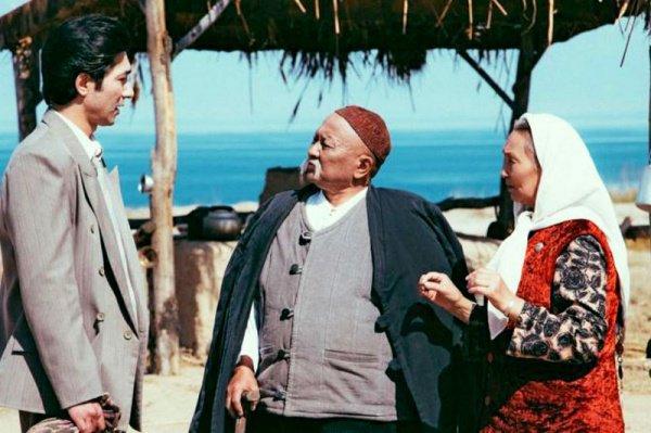 Кадр из фильма «Саякбай – Гомер 20-го века»