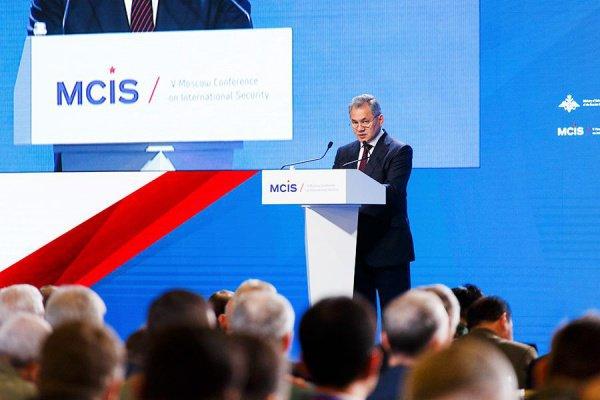 Мероприятие начнется с обращения министра обороны России Сергея Шойгу.
