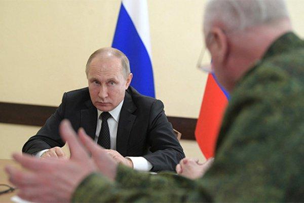 Президент России находится в Кемерово.