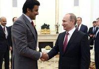 Путин назвал «очень хорошей» тенденцию в развитии сотрудничества России и Катара