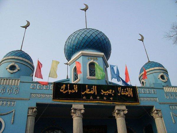 Власти Китая запретили арабские надписи.