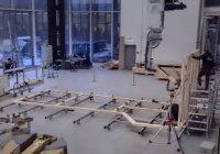 В Швейцарии роботов научили строить каркасы зданий