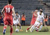 Сборная Таджикистана по футболу подралась с командой Филиппин