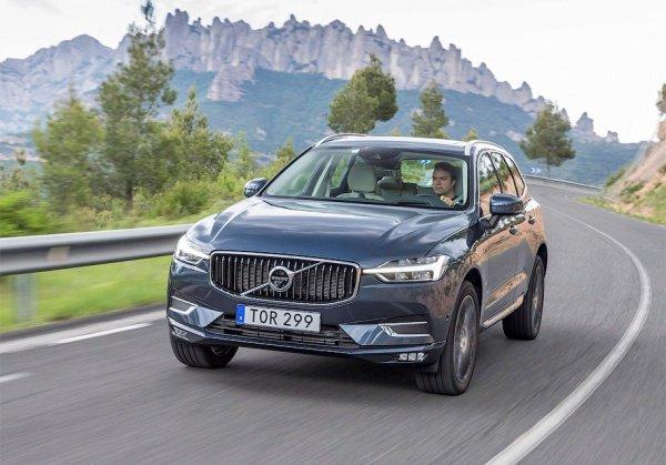 В январе нынешнего года Volvo XC60 назвали лучшим вседорожником США