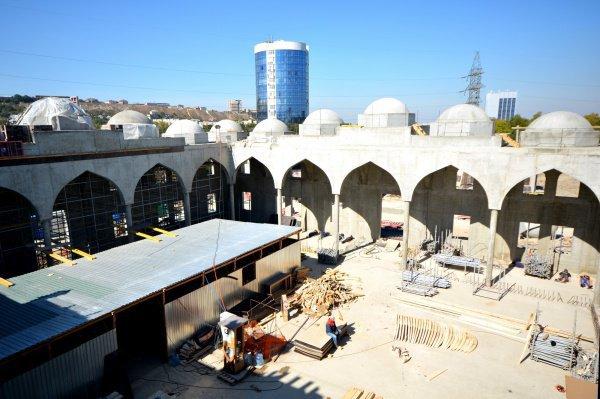Открытие мечети запланировано на 2019 год.