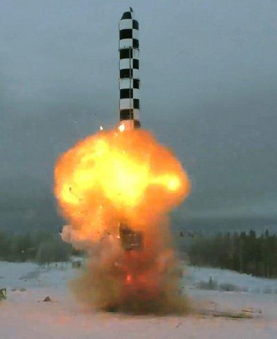 Новейшая российская баллистическая ракета прошла испытания.