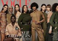 Модель в хиджабе впервые попала на обложку журнала Vogue