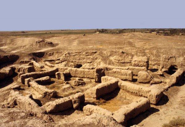 Город Мари был построен 4 тысячи лет назад.