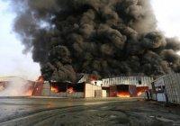 В Йемене сгорели десятки тонн гуманитарной помощи