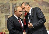 Путин посетит Турцию по приглашению Эрдогана