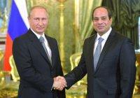 Путин поздравил ас-Сиси с победой на выборах президента Египта
