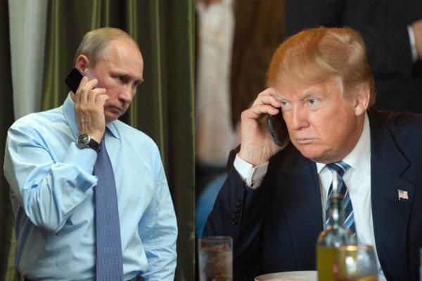Телефонный разговор Трампа и Путина состоялся по инициативе американской стороны.