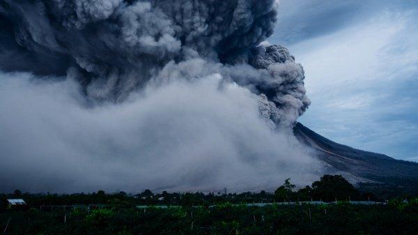 В общей сложности в Японии 50 действующих вулканов