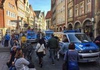 Грузовик наехал на людей в Германии, есть жертвы (Видео)