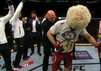 Боец-мусульманин Нурмагомедов стал первым россиянином – чемпионом UFC (Видео)