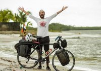 Болельщик из Египта на ЧМ-2018 в России отправился на велосипеде