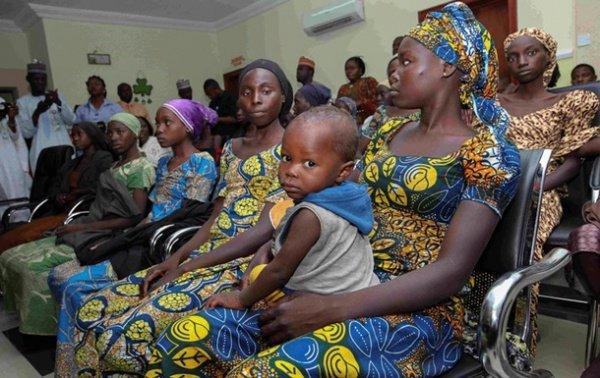 """Из плена """"Боко Харам"""" освободили почти 150 женщин и детей."""
