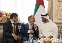 Рустам Минниханов встретился с наследным принцем Абу Даби