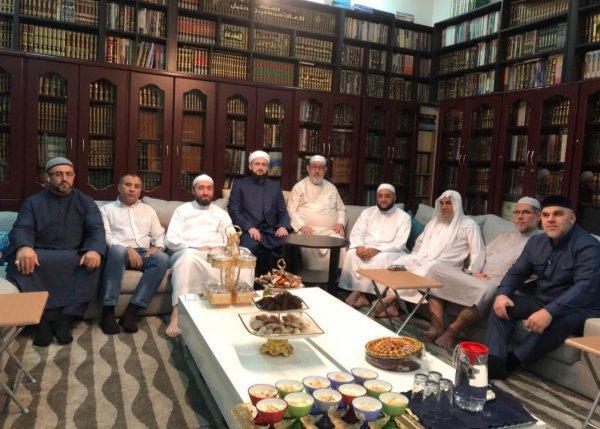 Муфтий РТ на встрече с богословами.