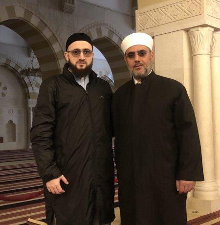 Камиль Самигуллин и Саид Абдуллатиф аль-Фуд.