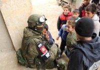 Российская военная полиция начала работу в сирийской Думе