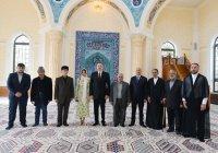 Ильхам Алиев посетил открытие новой мечети