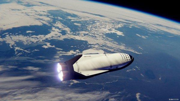 Межпланетный космический корабль, помимо транспортировки груза, будет также рассчитан на перевозку порядка 100 человек в пределах Земли или к Марсу