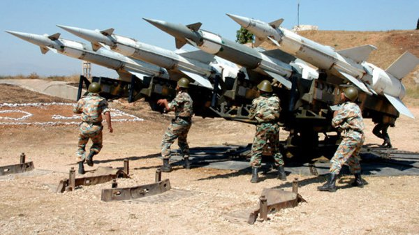 Сирийские войска продолжают использовать советское оружие.