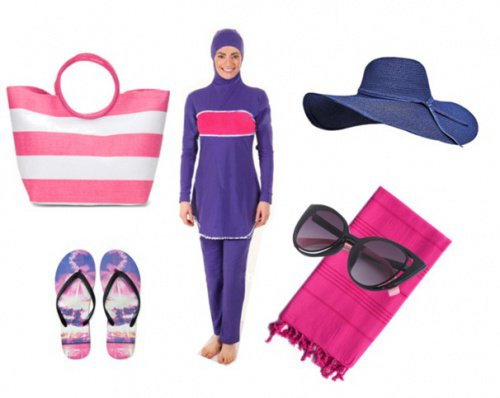Подходящая одежда для каждого случая - пляж, велосипед, роликовые коньки