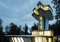 В России появился единственный в мире частный дом по проекту Захи Хадид (Видео)