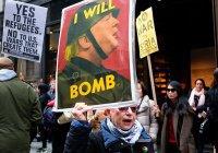 В США – многотысячные протесты против военной операции в Сирии