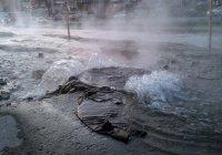 В Санкт-Петербурге 2 улицы затопило кипятком (ВИДЕО)