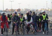 Первая женская велогонка прошла в Саудовской Аравии