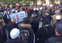 Во Франции прошли митинги в поддержку Палестины