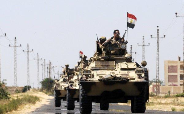 Египет не будет отправлять войска в Сирию.