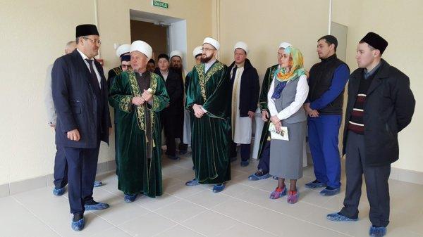 Визит муфтия Татарстана в Балтаси.