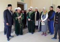 Муфтий осмотрел мусульманский пансионат в Балтасях