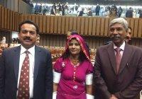 В парламент Пакистана впервые избран христианин