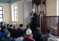Муфтий Татарстана прочел пятничную проповедь в Галеевской мечети
