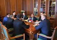 Минниханов договорился о сотрудничестве с послом Египта