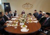 Муфтий Татарстана встретился с египетским послом