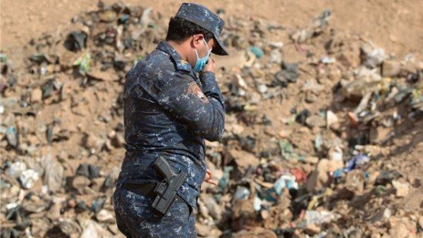 Очередную братскую могилу нашли в Сирии.