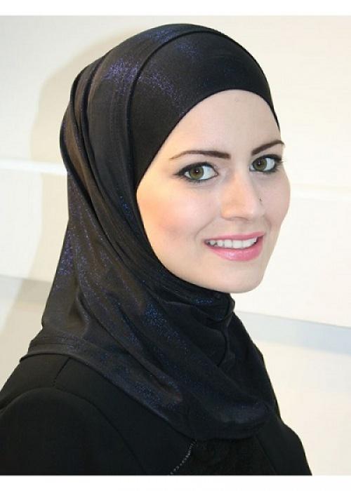 Что у мусульманки на голове?