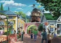 Студия Ghibli показала эскизы будущего парка развлечений (ФОТО)